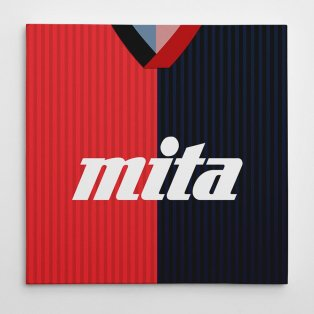 Genoa 1991 Football Canvas Print