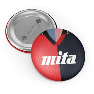 Genoa 1991 Button Badge