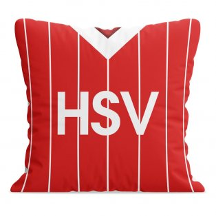 Hamburg 1983 Away Football Cushion