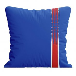Iceland 2016 Football Cushion