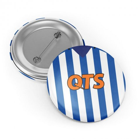 Kilmarnock 18/19 Button Badge