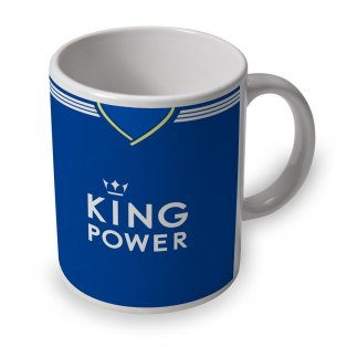 Leicester City 18/19 Football Retro Ceramic Mug
