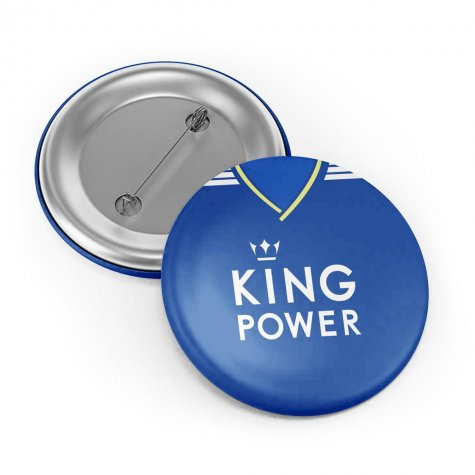 Leicester City 18/19 Button Badge