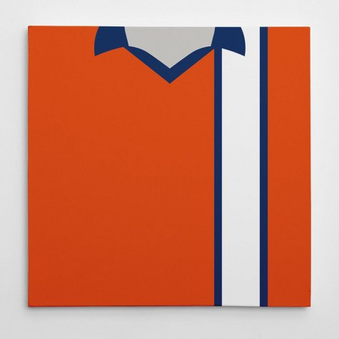 Luton Town 1974-79 Football Canvas Print