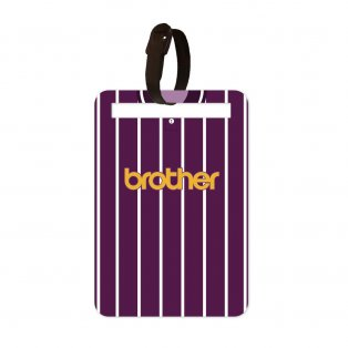 Manchester City 1992-94 Away Luggage Tag