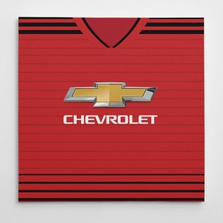 Manchester United 18/19 Football Canvas Print