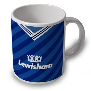 Millwall 88/89 Football Retro Ceramic Mug
