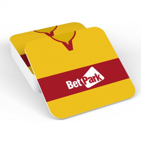 Motherwell 18/19 Football Retro Coaster