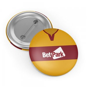 Motherwell 18-19 Button Badge
