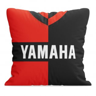 Newells Old Boys Retro Football Cushion