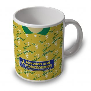 Norwich City 92-94 Football Retro Ceramic Mug