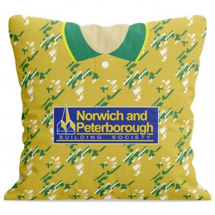 Norwich City 92-94 Football Cushion