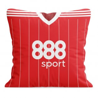 Nottingham Forest 17/18 Football Cushion