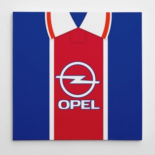 PSG 1995 Football Canvas Print