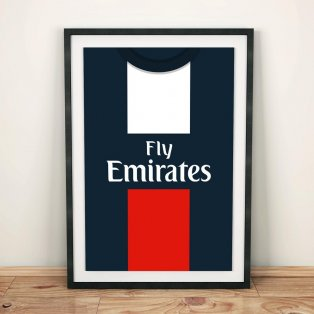 PSG 2012 Football Shirt Art Print