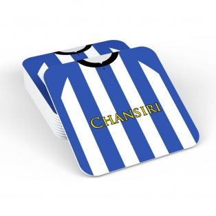 Sheffield Wednesday 18/19 Football Retro Coaster