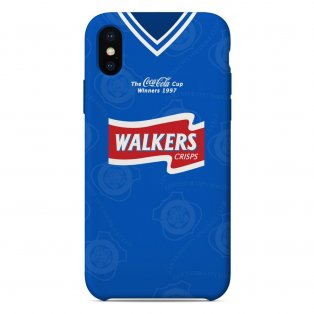 Leicester City 1996-98 Coca Cola Cup Winners iPhone & Samsung Galaxy Phone Case