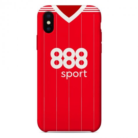 Nottingham Forest 2017-18 iPhone & Samsung Galaxy Phone Case