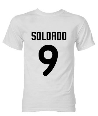Roberto Soldado Valencia Hero T-Shirt (White)