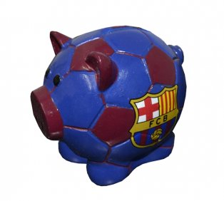 Barcelona Ball Base Piggy Bank