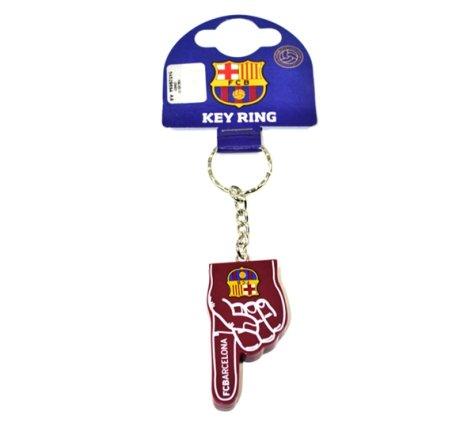 Barcelona No 1 Fan Keyring