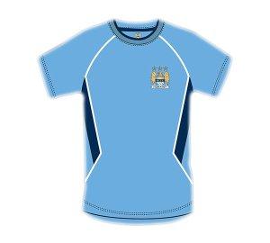 Manchester City Panel T Shirt Mens M Sn0223men-m-sl