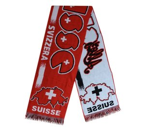 Switzerland Acrylic Scarf