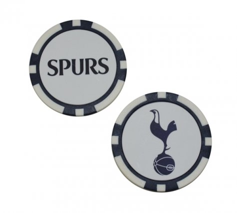 Tottenham Poker Style 2pk Golf Ball Marker