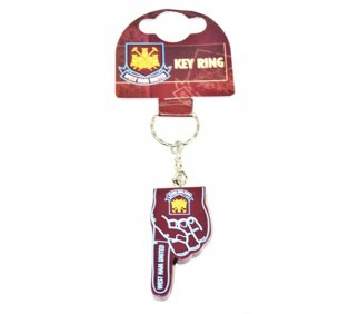 West Ham No 1 Fan Keyring
