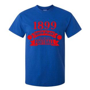 Barcelona Birth Of Football T-shirt (blue) - Kids