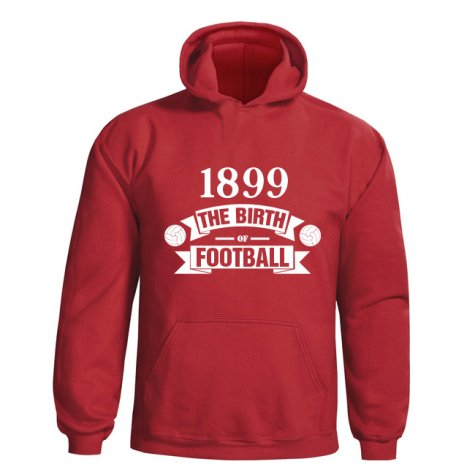 Cardiff City Birth Of Football Hoody (red)