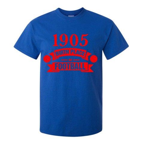 Crystal Palace Birth Of Football T-shirt (blue)