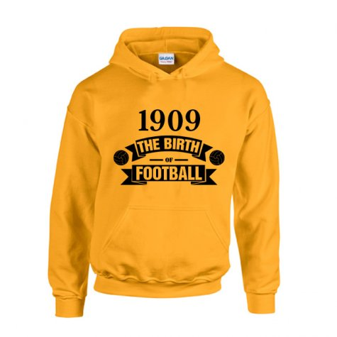 Borussia Dortmund Birth Of Football Hoody (yellow) - Kids