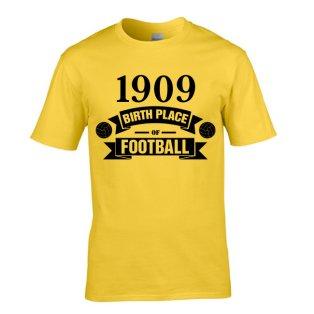 Borussia Dortmund Birth Of Football T-shirt (yellow) - Kids