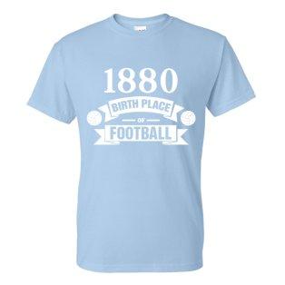 Man City Birth Of Football T-shirt (sky Blue) - Kids