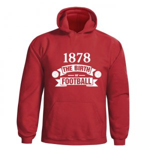 Man Utd Birth Of Football Hoody (red)