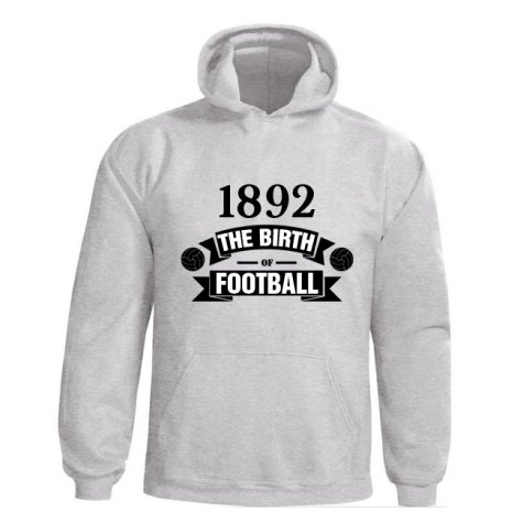 Newcastle Birth Of Football Hoody (white) - Kids