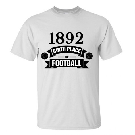 Newcastle Birth Of Football T-shirt (white)