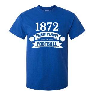 Rangers Birth Of Football T-shirt (blue) - Kids