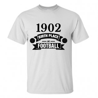 Real Madrid Birth Of Football T-shirt (white) - Kids