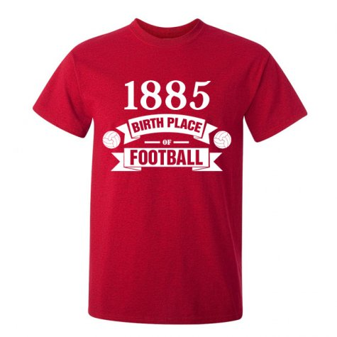 Southampton Birth Of Football T-shirt (red) - Kids