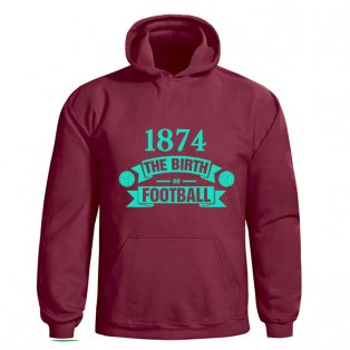 Aston Villa Birth Of Football Hoody (claret) - Kids