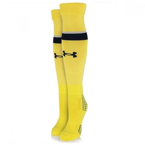 2015-2016 Tottenham Away Goalkeeper Socks (Yellow)