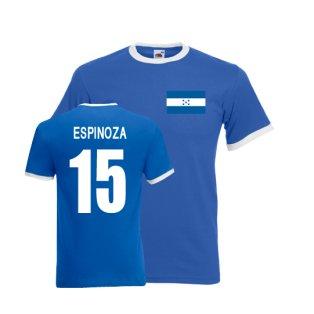 Roger Espinoza Honduras Ringer Tee (blue)