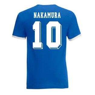 Shinsuke Nakamura Japan Ringer Tee (blue)