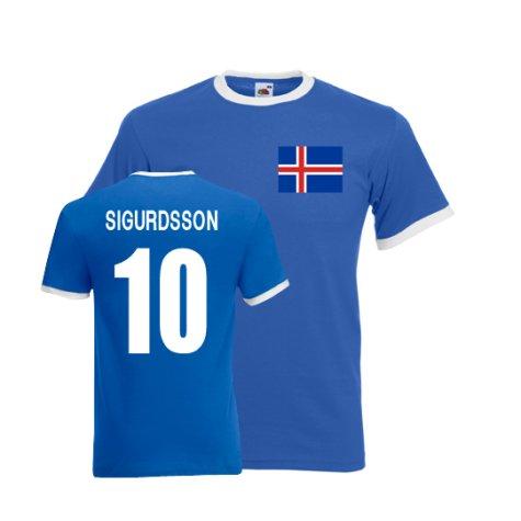Kolbeinn Sigborsson Iceland Ringer Tee (blue)