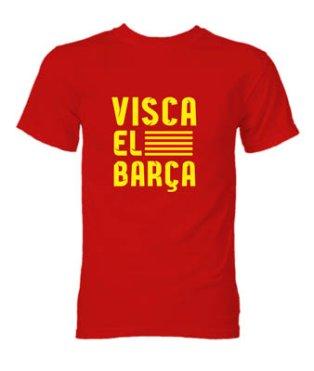 Visca El Barca T-Shirt (Red)