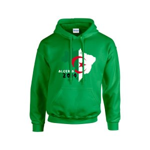 Algeria 2014 Country Flag Hoody (green) - Kids