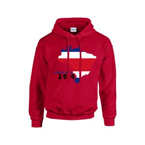Costa Rica 2014 Country Flag Hoody (red) - Kids