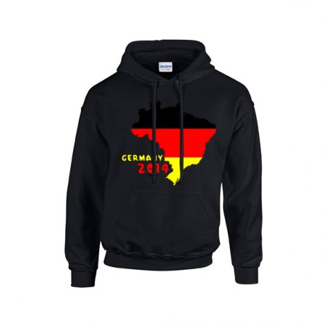 Germany 2014 Country Flag Hoody (black) - Kids
